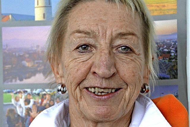 Hannelore Nuß lobt Gründung des Katzenhauses
