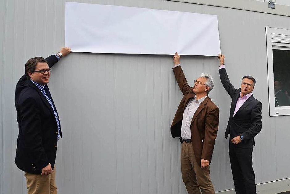 Impressionen von der Eröffnung des Besucherzentrums von Roche zur Sanierung der Kesslergrube in Grenzach (Foto: Ralf H. Dorweiler)