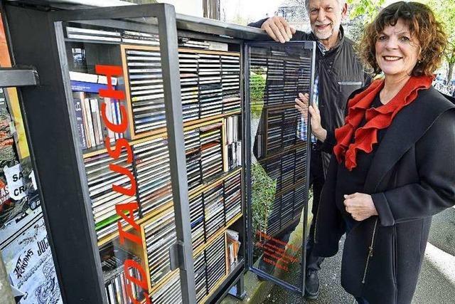 Neuer Tausch-Schrank: Jetzt gibt's CDs zum Nulltarif