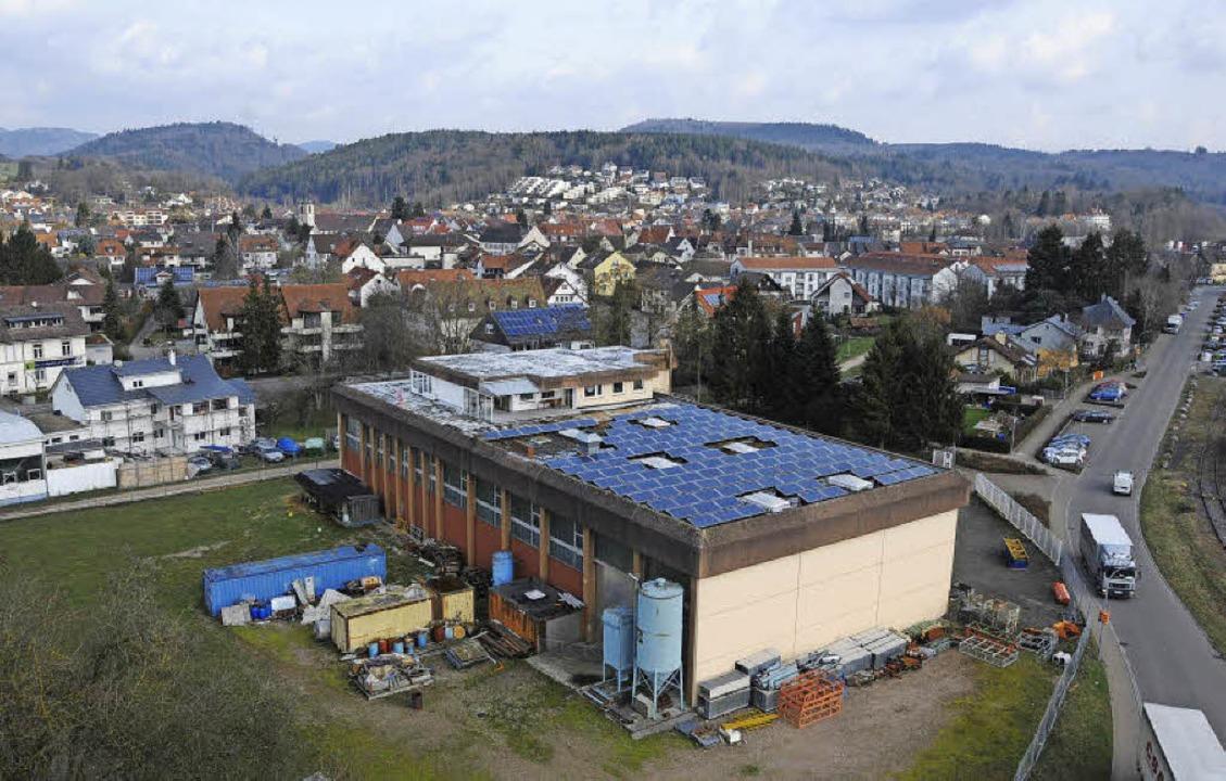 Die Firma AHB-Gießereitechnik liegt am...achbarschaft  bereits gediehen sind.    | Foto: Bergmann/Bertsch