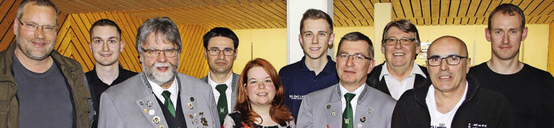 Der neue Schützen-Vorstand mit Jochen ..., Michele Martorana und Gernot Mickel   | Foto: zvg