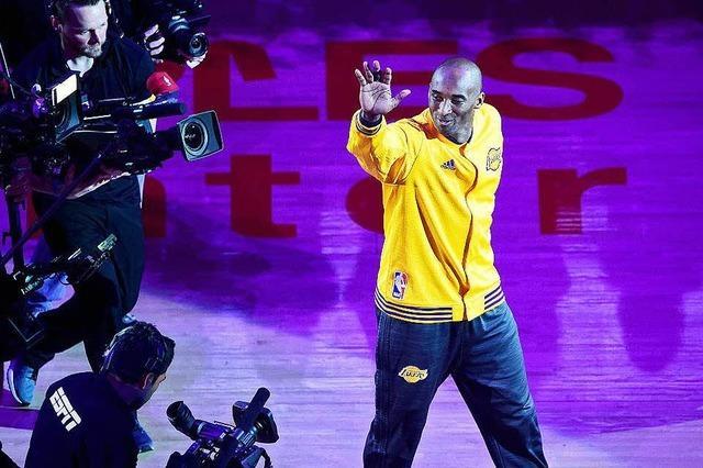 Große Emotionen beim Abschied der Basketball-Legende Kobe Bryant