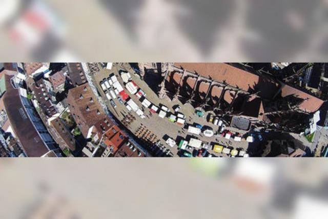 Ein Jahr auf dem Freiburger Münstermarkt