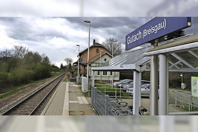 Ein Gleis mehr in Gutach