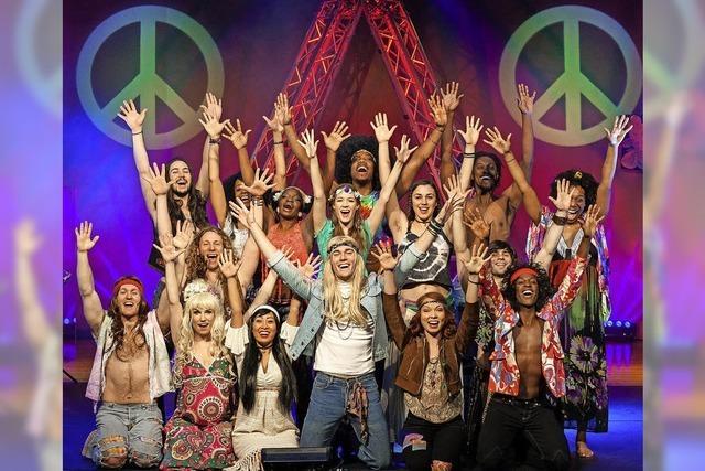 Hippie-Musical Hair gastiert in Rheinfelden