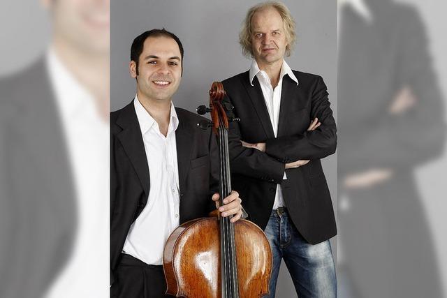 Daniel Sorour (Cello) und Clemens Kröger (Klavier) geben Klinikkonzert in Todtmoos