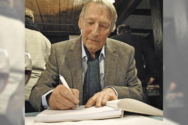 Willi Raiber stellt Werke im alten Schloss von Wehr aus