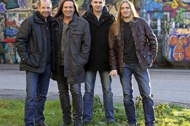 Sechs Bands spielen in der Wodanhalle Stücke, die sich ums Fernsehen drehen