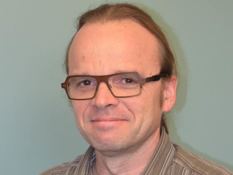 Jens Lange von der Professur für Hydrologie der Universität Freiburg  | Foto: Manfred Frietsch