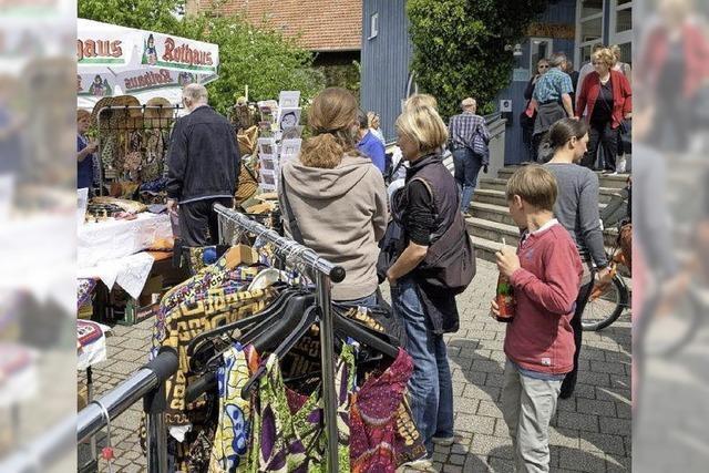 Vorfreude auf das Frühlingsfest mit Dorfflohmarkt