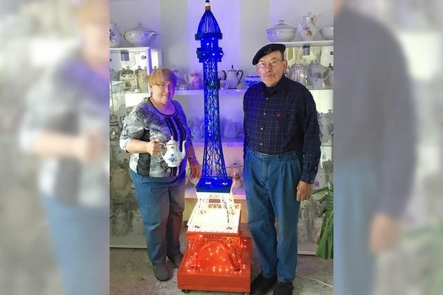 Trebbin sucht die Kooperation und hat jetzt sogar einen Eiffelturm