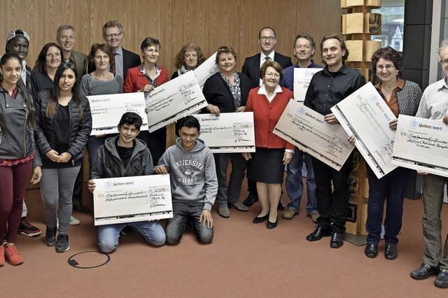 25 000 Euro für soziale Projekte