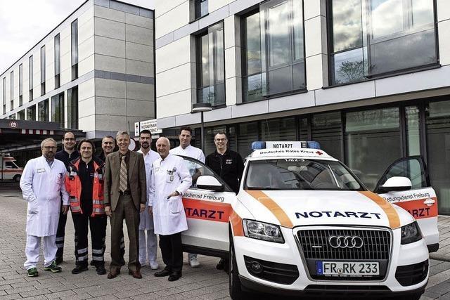 Ein neues Notarzt-Team ist ab jetzt an der Uniklinik stationiert
