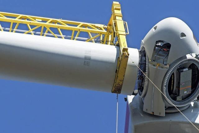 Millimeterarbeit in 150 Metern Höhe