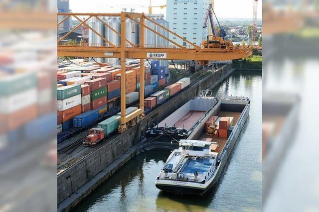 Diskussionen um den geplanten Containerterminal Basel-Nord