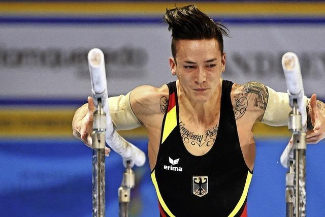 Deutsche Turner wollen sich die Teilnahme an Olympia sichern
