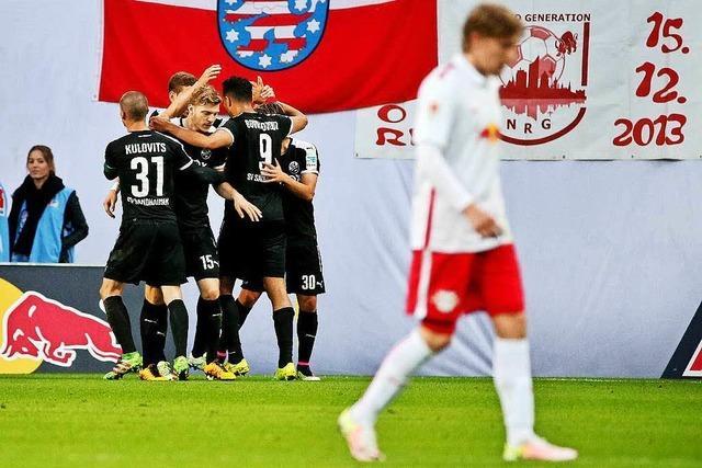 Leipzig verdrängt Freiburg nicht von der Zweitliga-Spitze