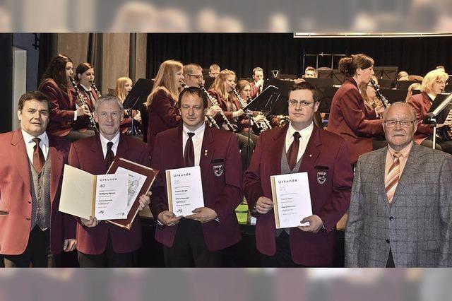 Viel Applaus für den Musikverein