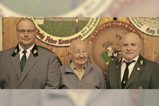 Karl-Frieder Fink ist Ehrenvorsitzender der Herbolzheimer Schützen