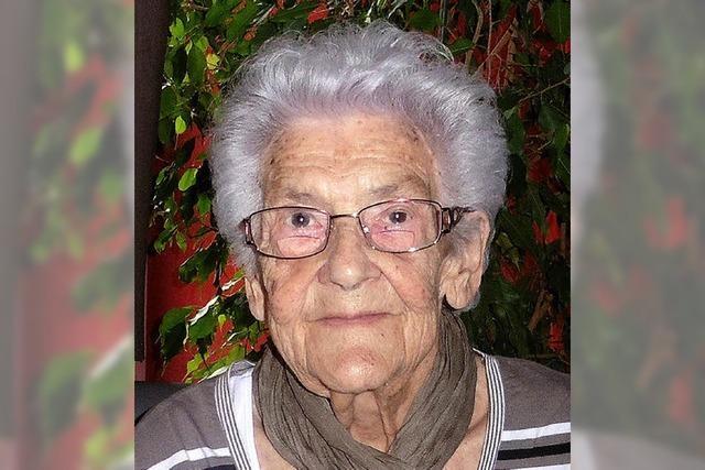 Paula Jäger hat 90. Geburtstag