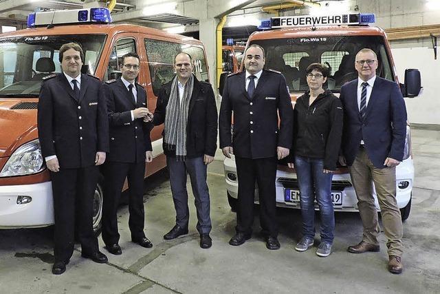 Feuerwehr-Fuhrpark verbessert