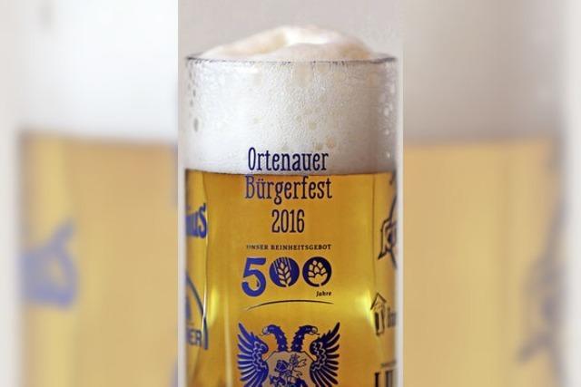 Auf dem Offenburger Marktplatz findet das Ortenauer Bürgerfest statt
