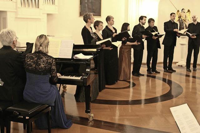 Ensemble Corund singt weniger bekannte Lieder