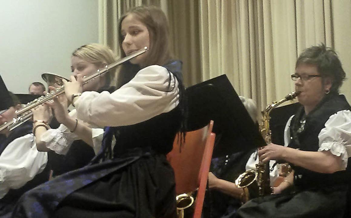 Bollschweiler Musiker überzeugen mit ihren Melodien.  | Foto: Sofia Conraths