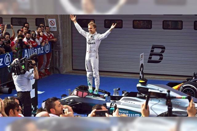Schnell, schneller, Rosberg