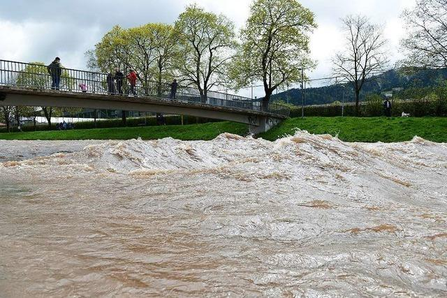 Freiburg bleibt von großem Hochwasser verschont