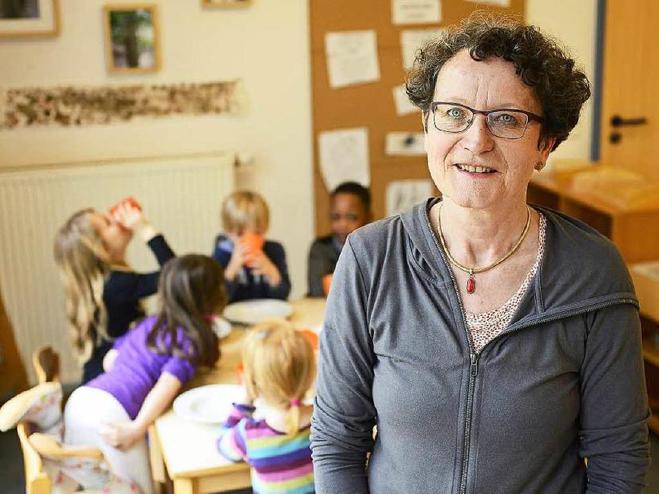 Claudia Frey, Leiterin der städtischen...gang mit herausfordernden Situationen.  | Foto: Ingo Schneider