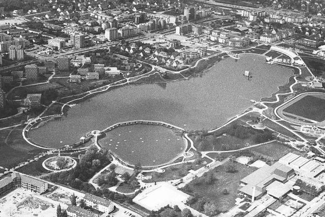 Fotos: So war die Landesgartenschau in Freiburg 1986