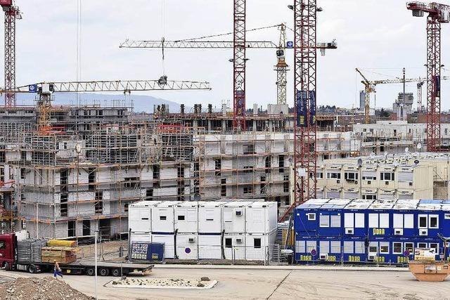 Freiburg braucht 14 600 neue Wohnungen bis 2030