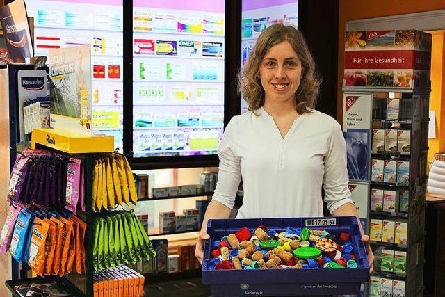 Studentin sammelt Plastikdeckel für krebskranke Kinder