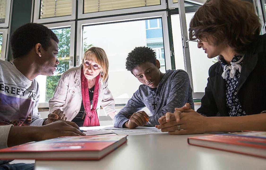 Deutsch lernen ist der wichtigste Schritt auf dem Weg zur Integration  | Foto: Frank Rumpenhorst