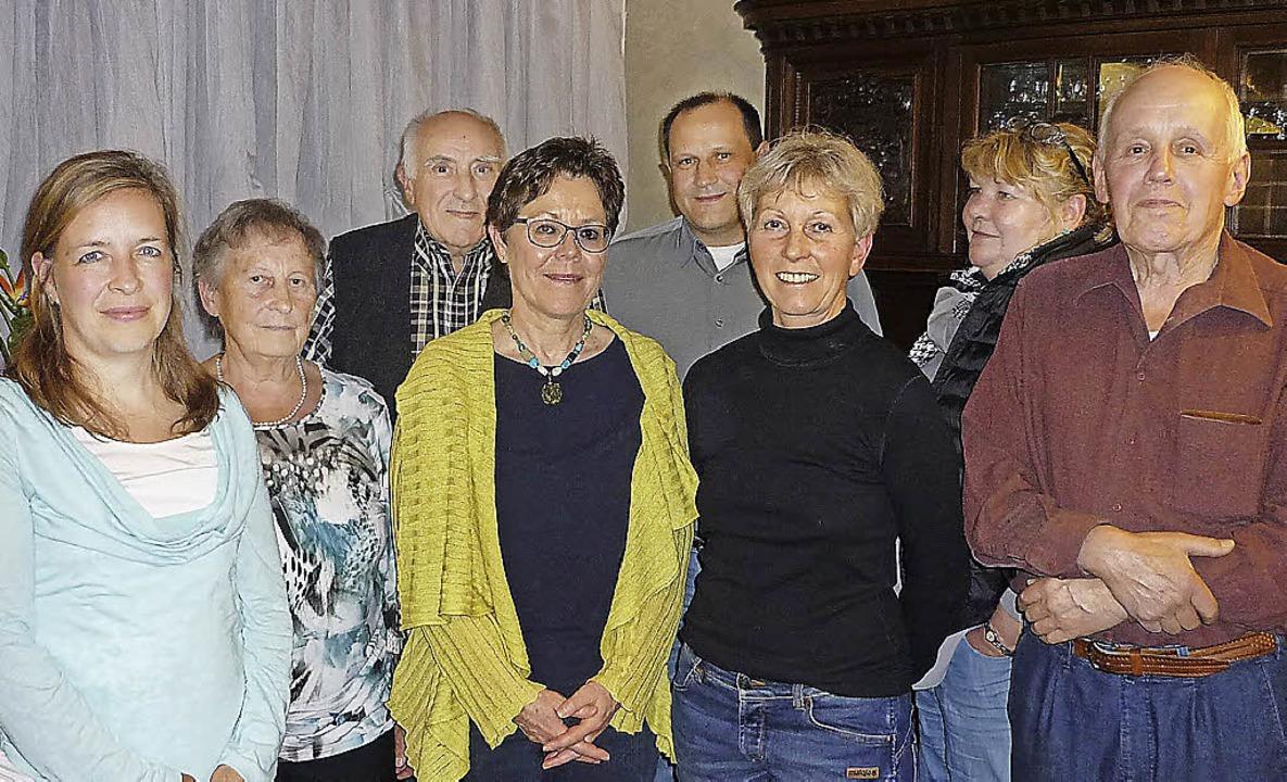 Geehrte beim Skiclub Zell (von links):...r, Iris Schmidt und Erwin Baumgartner   | Foto: Wolfgang Grether