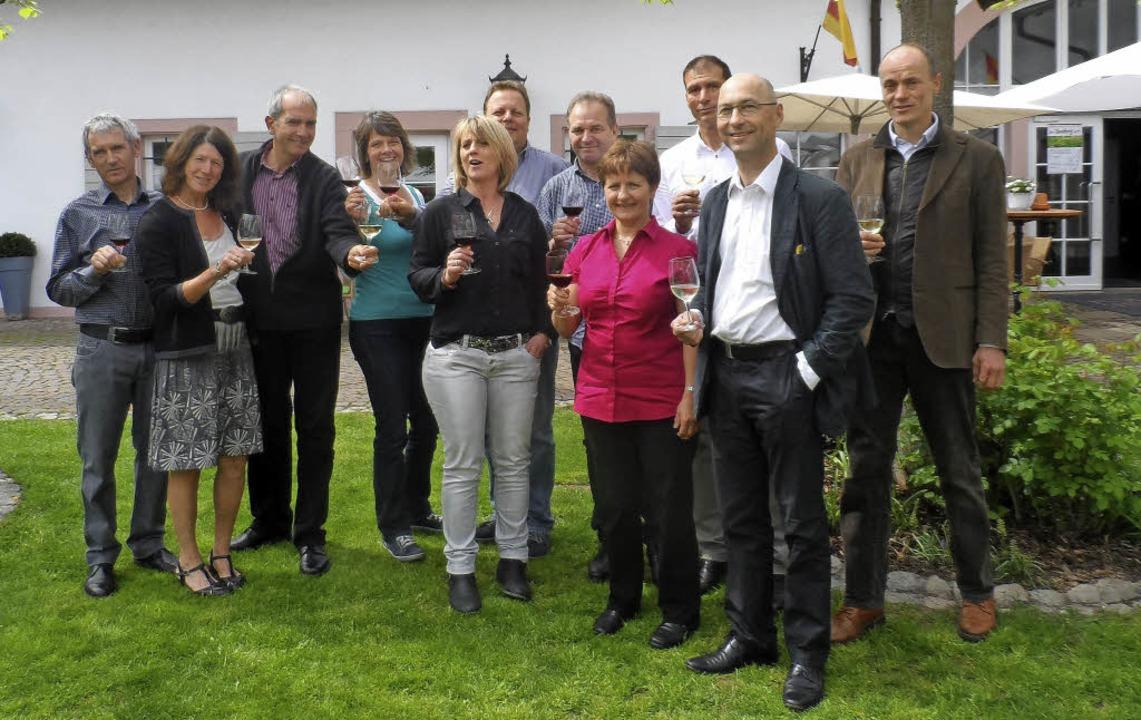 Freuen sich auf die gemeinsame Präsent...r, Josef J. Simon und Jürgen Landmann.  | Foto: privat