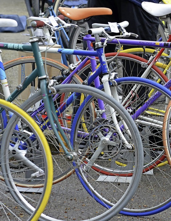Renner gehen gut auf Fahrradmärkten –  auch in Landwasser.   | Foto: Eggstein