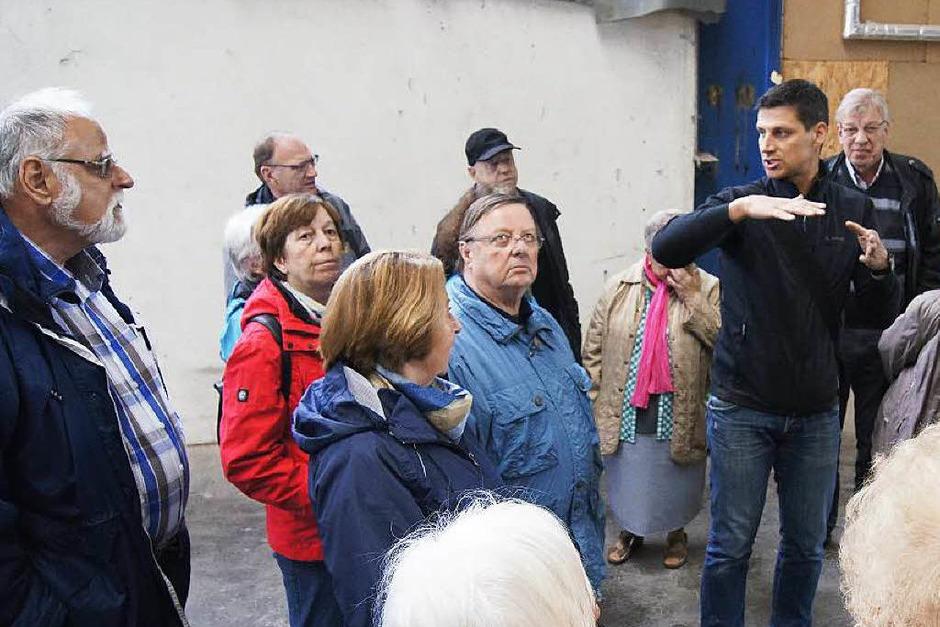 BZ-Leserfahrt zur Firma Jako Baudenkmalpflege, die das Schlössle von Effringen restauriert, und zum Schwarzwälder Freilichtmuseum Vogtsbauernhof. (Foto: Stephan Hoferer)