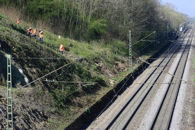 Hangrutschgefahr beeinträchtigt weiter die Rheintalbahn