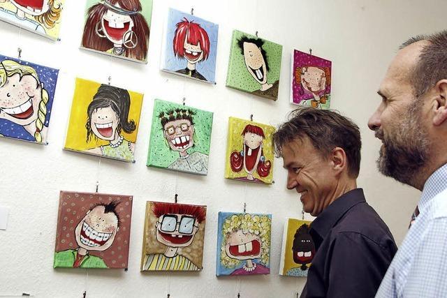Ausstellung im Rathaus Schwanau