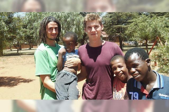Ein Bad Säckinger lernt im Freiwilligendienst Südafrika kennen