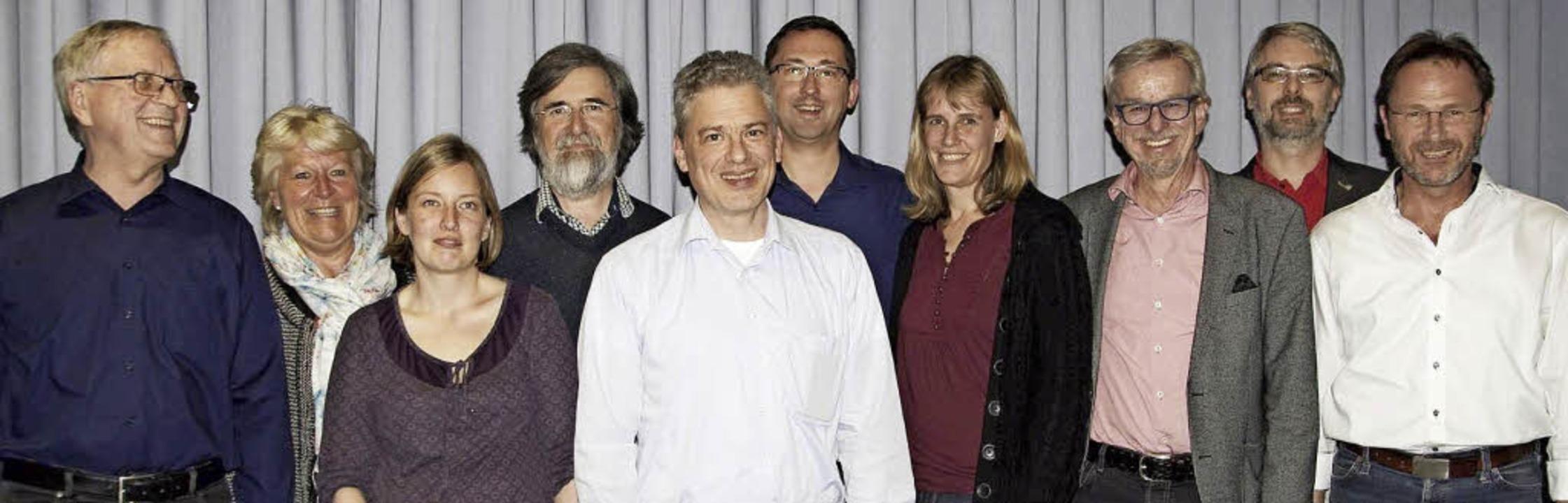 Neuer SPD-Vorstand in Bad Krozingen ge...r Falk, Matthias Schmidt, Armin Hänßel  | Foto: SPD