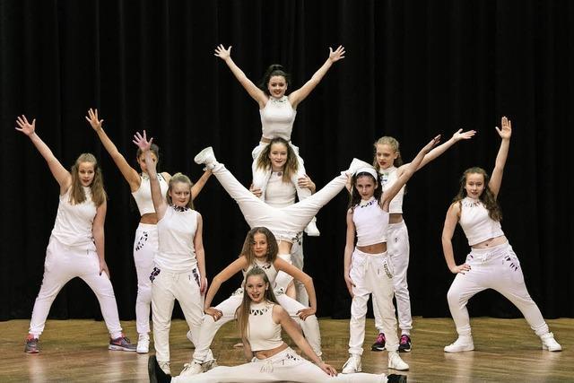 Viele Kinder sind vom Tanzen begeistert