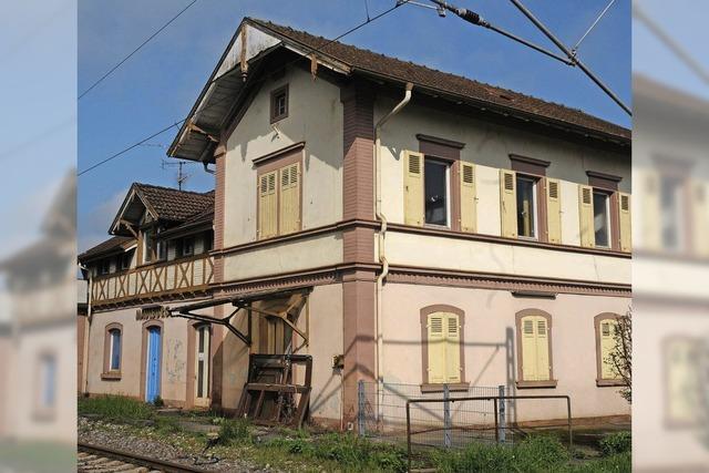 Wohnraum statt Fahrkarten im leerstehenden Maulburger Bahnhofsgebäude