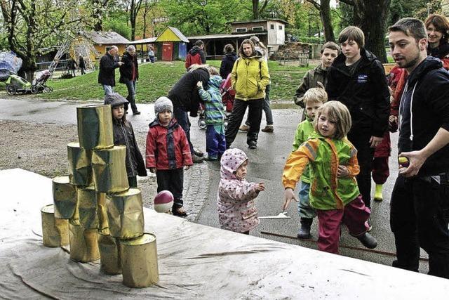 Frühlingsfest des Abenteuerspielplatzes Weingarten