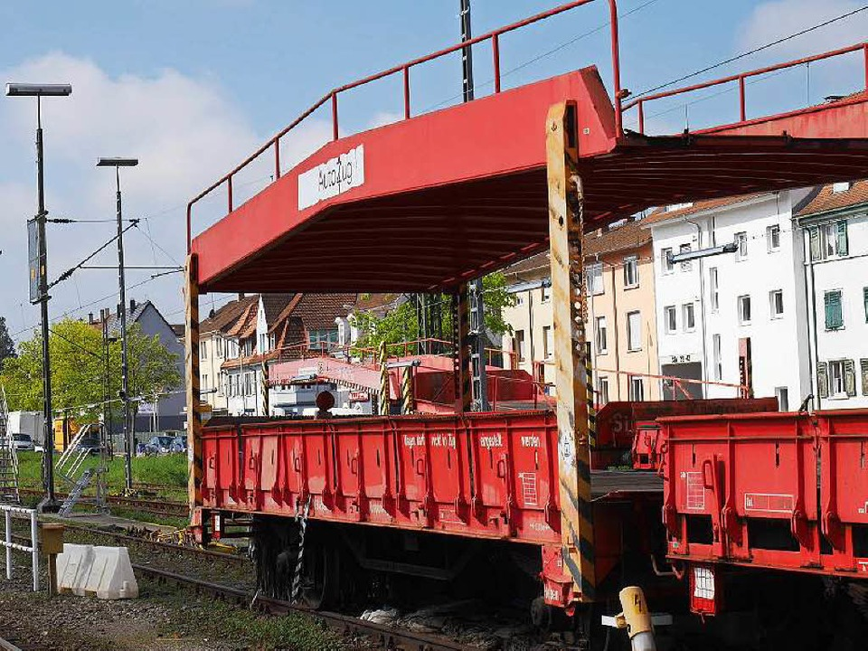 Der Autoreisezug, den die Bahn im Herb...n Unternehmen weiterbetrieben werden.   | Foto: Nikolaus Trenz