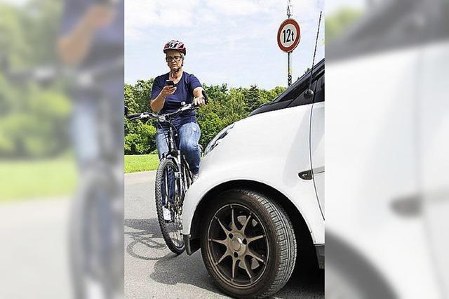 Bei 1,6 Promille gibt es für Radfahrer drei Punkte