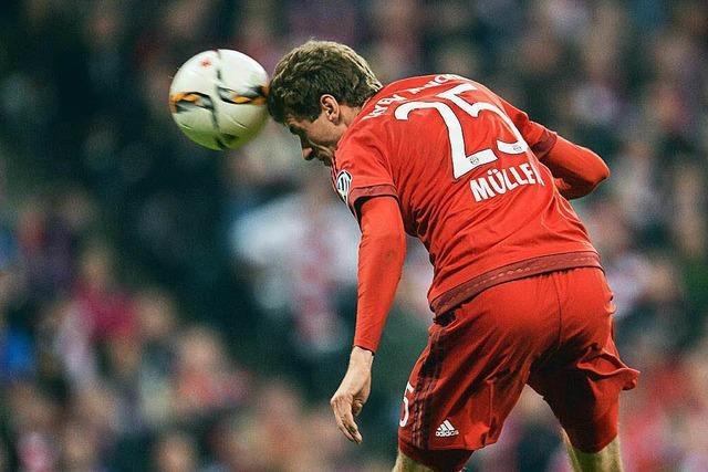 Thomas Müller schießt die Bayern ins DFB-Finale