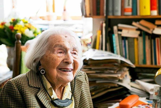 Freiburgs älteste Bürgerin: Altstadträtin Gertraude Ils ist 107 Jahre alt